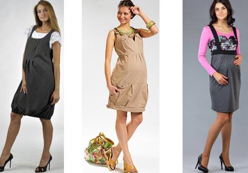Фасоны платья для беременных