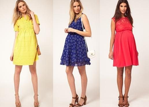 Шикарные платья для будущих мам