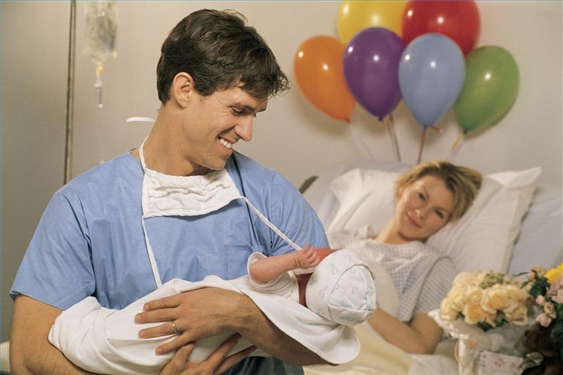 фото:Присутствие мужа на родах